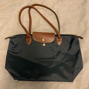 Longchamp Le Pliage small shopper — black